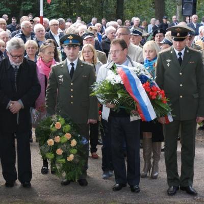 Obchody 72 rocznicy bitwy pod Gruszką - 2016